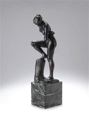 Max Klinger, Bathing Girl, 1896/97