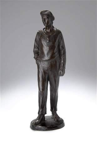 Robert Cauer, Sailor, around 1914