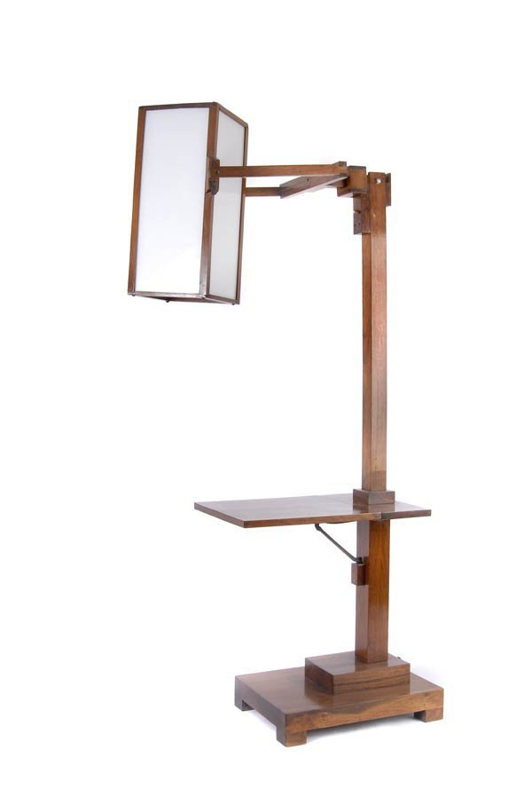 4: Netherlands, Standard Lamp, around 1920