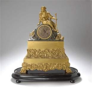 24: Frankreich; Kaminuhr, um 1840