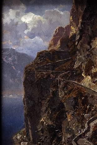 Otto Werner Henning von Kameke, Am Gardasee, um 1890