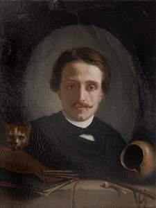 5: Edouard Amable Onslow, Selbstbildnis, um 1880