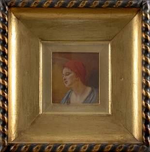 Isaak (Iszák) Perlmutter, Portrait of a Woman, aroun