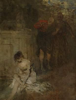 Mathias Schmid, Susanna and the Two Old Men, around