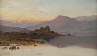 Alfred de Bréanski, 'Doune Castle', around 1880