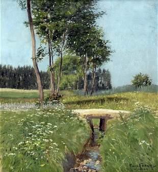 Franz Frankl, 'Sonniger Sommertag', 1911