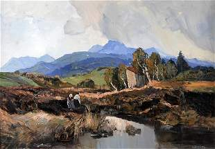 Emil Brehm, Landschaft, um 1930