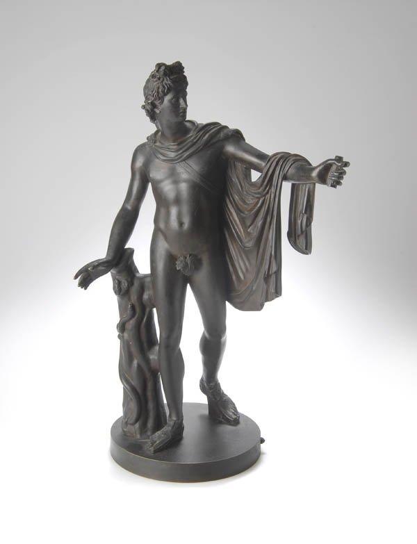 1: Italien, Apoll vom Belvedere, um 1870