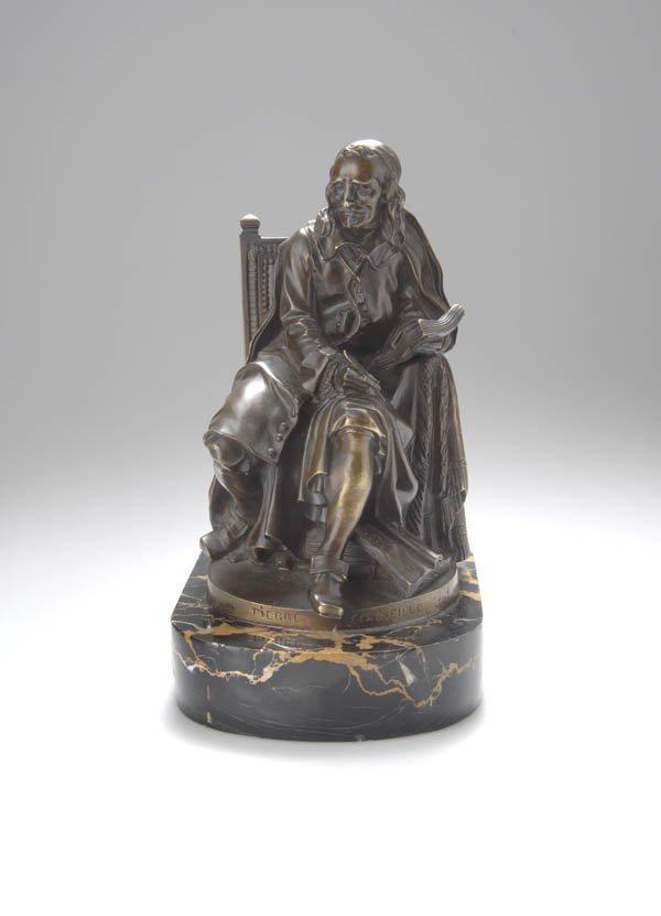 3: Jean-Jacques Caffieri, Pierre Corneille, 1778/79