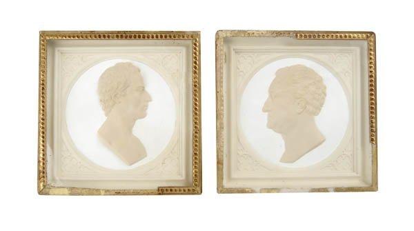 5: Leonhard Posch, Paar Profilportraits 'Friedrich von