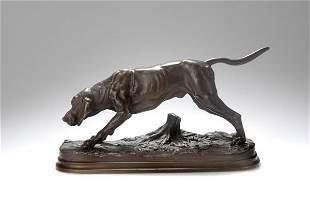 Alfred Dubucand, 'Bloodhound du St. Hubert', um 187