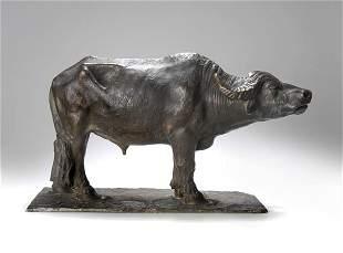 Lorenzo Corelli, Rom, Wasserbüffel, um 1880