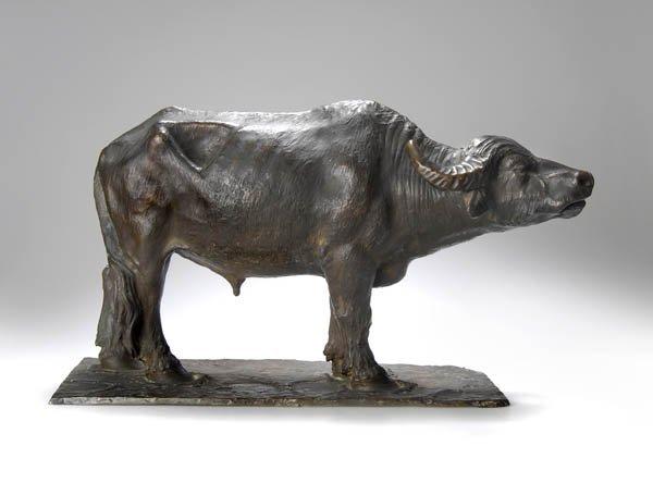 17: Lorenzo Corelli, Rom, Wasserbüffel, um 1880