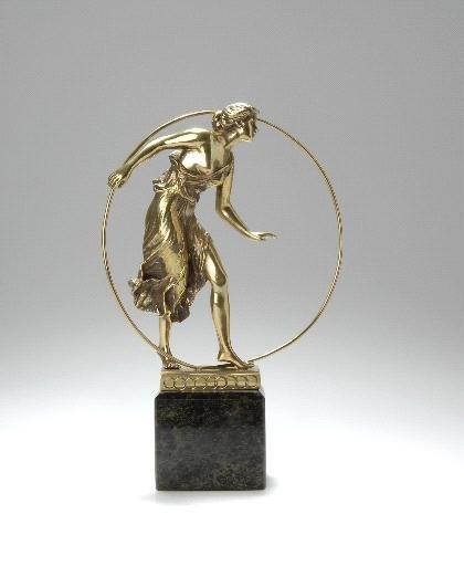 40: Georges Morin, Reifentänzerin, um 1900