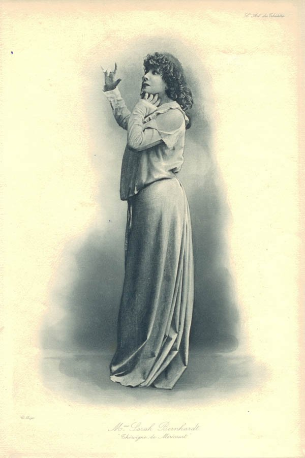 1015: Paul Boyer, Paris, Sarah Bernhardt als 'Théroigne