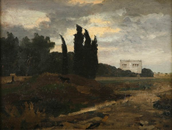 1: Emil Lugo    attributed, Italian Landscape, around 1