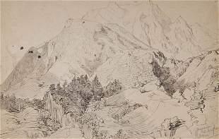 Hermann Kauffmann, 'Mayerhofen im Zillertal', 1832