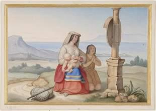 Clemens von Zimmermann, Andacht, 1833