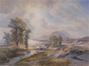 Carl Maria Nicolaus Hummel, Arkadische Landschaft, 1