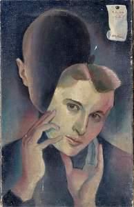 67: Unbekannter Künstler, Deutschland, Demaskierung, 19