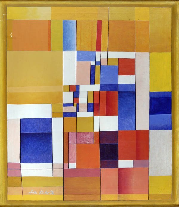 276: Fritz Kuhr, Geometrical Composition, 1953/54
