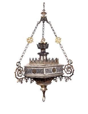 Germany, Eternal light lamp, ca. 1870
