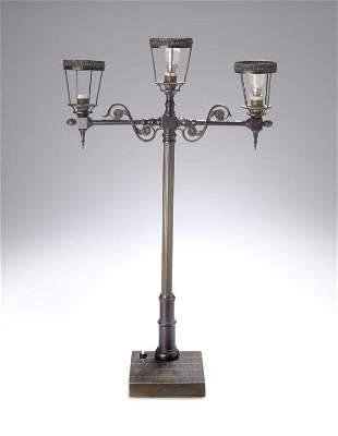 Paul Ludwig Kowalczewski, Table lamp, 1904