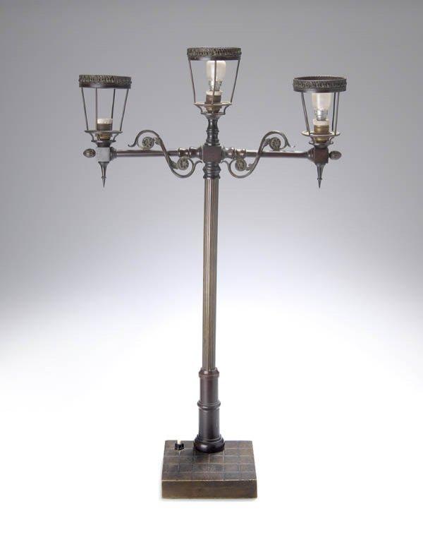 12: Paul Ludwig Kowalczewski, Table lamp, 1904