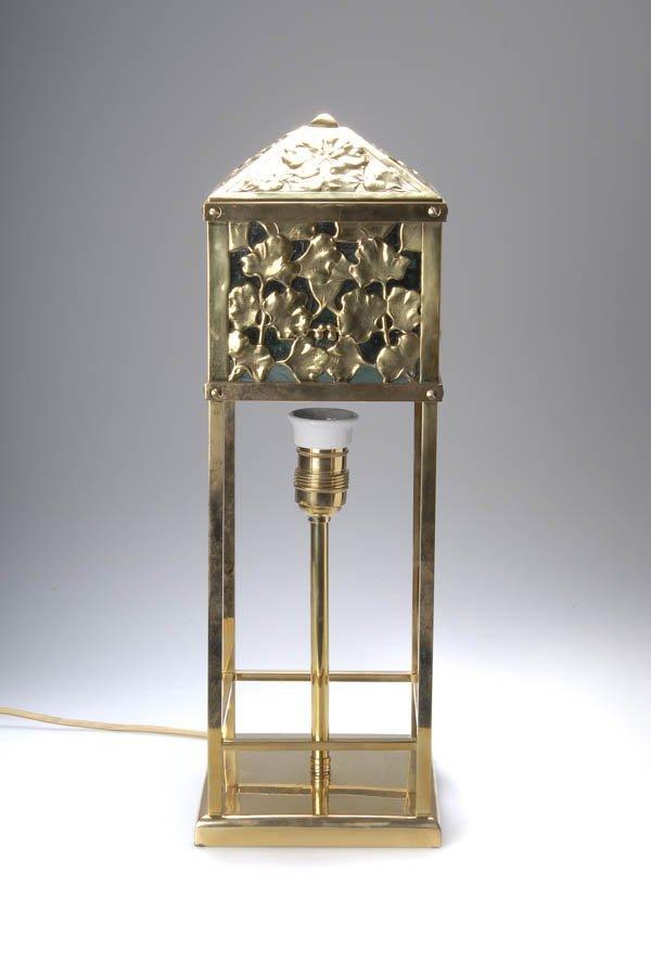 16: Vienna, Austria, Table lamp, ca. 1900