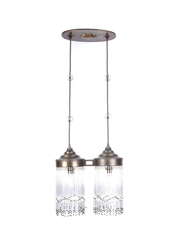 19: Vienna, Austria, Pendulum lamp, ca. 1905