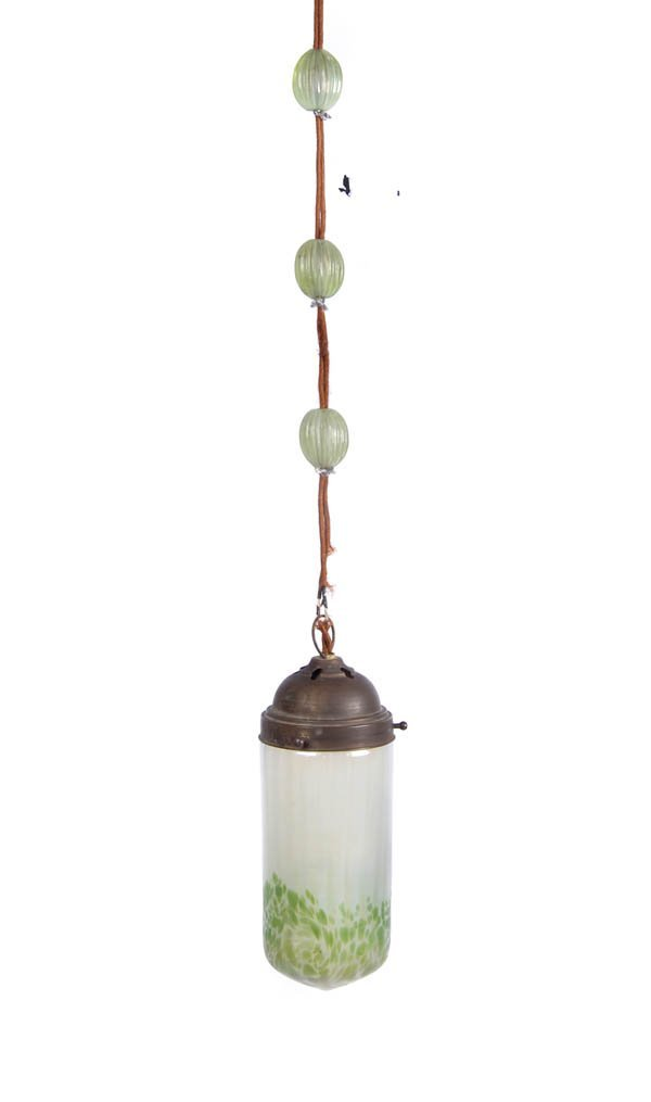 22: Joh. Lötz Witwe, Klostermühle, Pundulum lamp, ca. 1