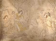 1563 Eugne Samuel Grasset Tapestry  La fte du prin