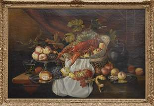 Germany, Still Life with Fruit and Lobster, around 1