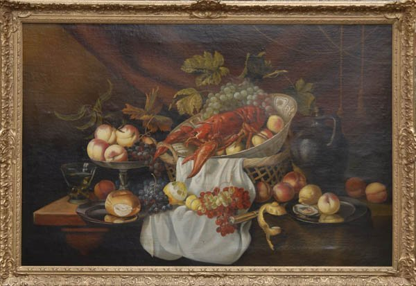 5: Germany, Still Life with Fruit and Lobster, around 1