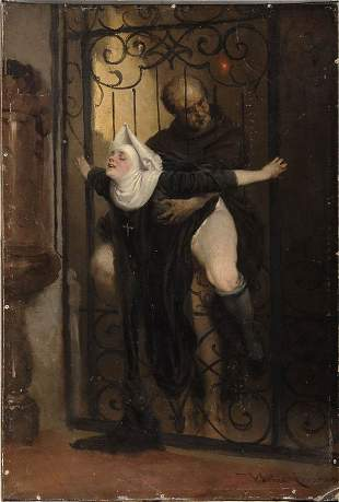 Heinrich Lossow, The sin, ca. 1880