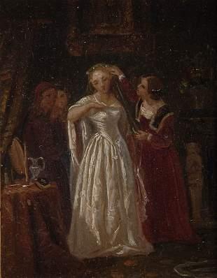 Heinrich Franz Gaudenz von Rustige, 'Die Braut', um