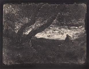 Jean-Baptiste-Camille Corot, 'Le Songeur', 1854