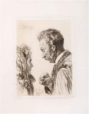 Adolph Menzel, 'Das Letzte', 1895