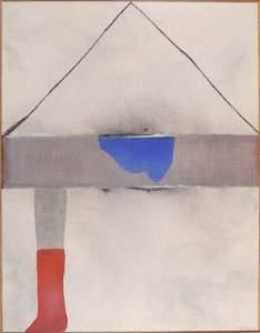 346: Giuseppe Santomaso, 'La Casa Equivoca', 1975