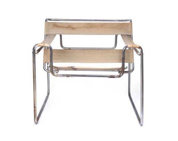 1008: Marcel Breuer, Arm Rest Chair 'Wassily', 1925