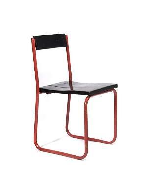 Walter Schütte, Frankfurt, Classroom chair, 1927-