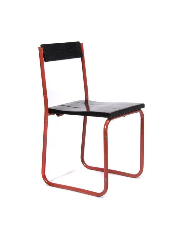 1021: Walter Schütte, Frankfurt, Classroom chair, 1927-
