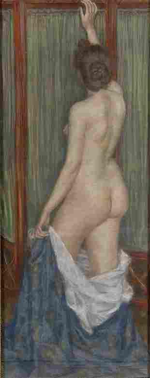 Hermann Schlittgen, Standing Female Nude, ca. 190