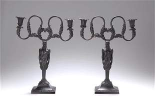 Royal Prussian Founderies, Pair of Candle Stick H