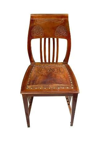 Joseph M. Olbrich, Chair, around 1898-99