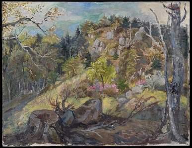 1046: Otto Dix, Stone Quarry in the Vosges, 1945