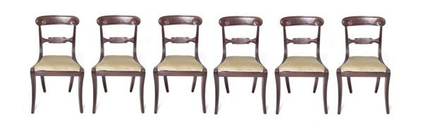 4: Germany, Five chairs, 19th c.
