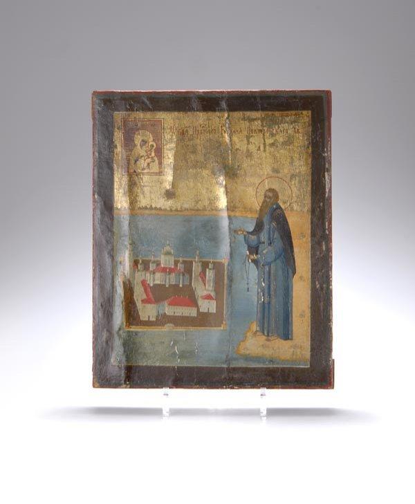 9: Russia, Icon, 19th c.