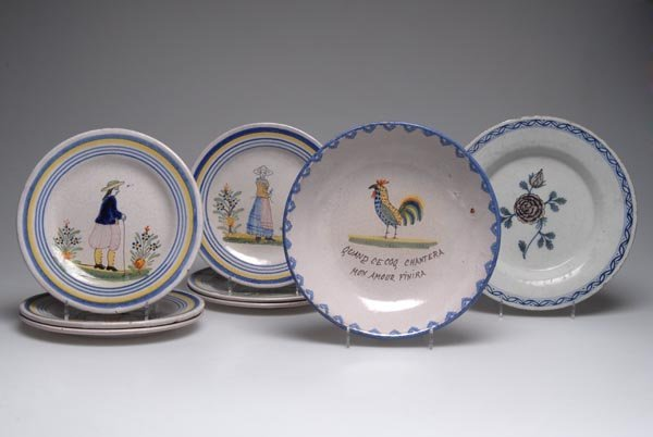13: France, Bowl and plate