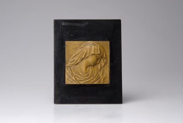 17: Hermann Steiner, Relief plate Mater Dolorosa', ca.